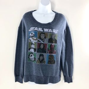 Star Wars Sweatshirt Crew Neck EUC